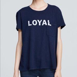 Elizabeth & James Loyal Pocket T-Shirt
